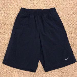 Nike Performance Navy Athletic Shorts